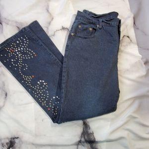 DG size 10 studded and embellished jean